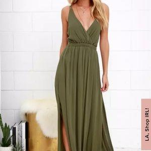 Lulu's Lost in Paradise Maxi dress